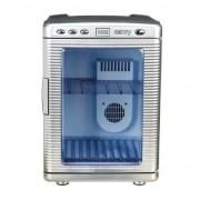 Lada frigorifica camry Minifrigider portabil Camry CR 8062, 20 l, Alimentare 220V si auto 12V, Argintiu