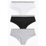 Next Logo Cotton Shorts Four Pack - Monochrome