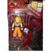 Dragon Ball Figure Collection Shueisha Bird Volks : Vol. 7 Son Gokou Super Saiyan 3 + Maijin Boo