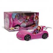 Giochi preziosi winx bambola bloom con auto fairy car