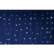 LED-es fényfüggöny, 2x2 m / 400 LED, sorolható, melegfehér