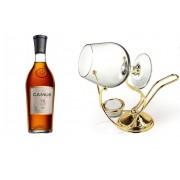 Set cadou Camus VS 1000 ml si Incalzitor de cognac placat cu aur by Chinelli Made in Italy