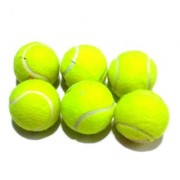 Green Cricket Tennis Ball (set of 6 pics)