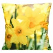 Povlak na polštářek 3D Narcisy