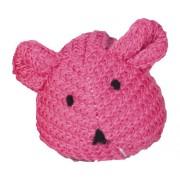 Jucarie pentru pisici Karlie, soricel de lana, culori asortate