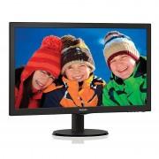 """Philips 203v5lsb26/10 Monitor Lcd 19,5"""" Luminosità 200 Cd/m² Colore Nero"""