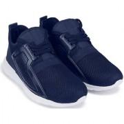 Clymb Firangi Navy Blue Trendy Walking Gym Sports For Men's In Various Sizes