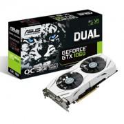 Placa video ASUS Dual GeForce GTX 1060 OC, 1594 (1809) MHz, 3GB GDDR5, 192-bit, DVI-D, 2x HDMI, 2x DP, DUAL-GTX1060-O3G