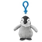 Emperor Penguin Chick Plush Penguin Stuffed Animal Backpack Clip Toy Keychain WildLife Hanger