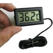 Digital Mini LCD Temperature Thermometer with Probe Fridge Freezer Aquarium