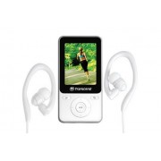 TRANSCEND MP3 PLAYER 8GB WHITE/TS8GMP710W TRANSCEND
