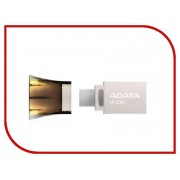 USB Flash Drive 16Gb - A-Data DashDrive UC330 OTG USB 2.0/MicroUSB Silver-Black AUC330-16G-RBK