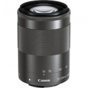Canon EF-M 55-200mm f/4.5-6.3 IS STM Lens for Canon M (Graphite)