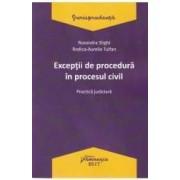 Exceptii de procedura in procesul civil - Ruxandra Sirghi