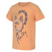 Husky Zingl Kids 152-158, lososová Dětské triko