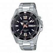 Reloj CASIO MTD-1079D-1A3VCF ILUMINATOR Collection Análogo Con Calendario-Acero