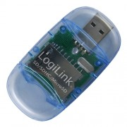 "Card Reader USB 2.0 stick, format SD & Micro SD, Logilink ""CR0015"""