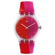 Swatch Red5997 Swatch Men's New Gent SUOK117 Multi Silicone Swiss Quartz Watch Watch - For Men