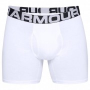 Under Armour - Charged Cotton 6'' 3 Pack - Ondergoed maat M wit/grijs