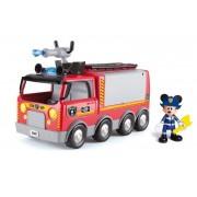 Mickey Mouse - Camion de pompieri cu lumini si sunete