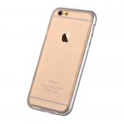 Husa Protectie Spate Devia Fresh Auriu pentru iPhone 6 (cu bumper aluminiu)