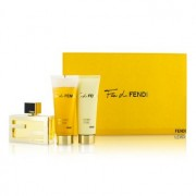 Fan Di Fendi Coffret: Eau De Parfum Spray 50ml/1.7oz + Body Lotion 75ml/2.5oz + Shower Gel 75ml/2.5oz 3pcs Fan Di Fendi Комплект: Парфțм Спрей 50мл + Лосион за Тяло 75мл + Душ Гел 75мл