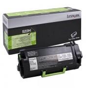 Lexmark 52D2H00 - 522H toner negro