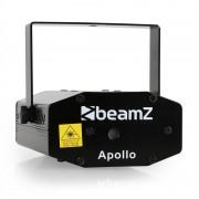 BEAMZ APOLLO DJ DISCO мини лазерна светлина зелен/ червен ефект + стойка (Sky-152.752)