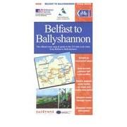 Fietskaart Belfast to Ballyshannon, Donegal Coast | Sustrans