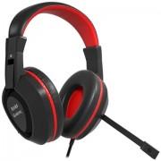 Mars Gaming MAH1V2 Stereofonico Padiglione auricolare Nero, Rosso cuffia e auricolare