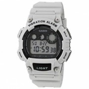 Reloj deportivo digital casio W-735H-8A2VDF - blanco + negro (sin caja)