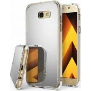 Skin Ringke Samsung Galaxy A5 2017 Mirror Silver + Bonus folie protectie display Ringke