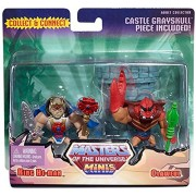 Mattel Masters of the Universe Minis King He-Man & Clawful Exclusive Mini Figure 2-Pack