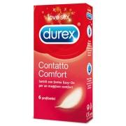 """Profilattici Durex """"Contatto Comfort"""" - 6 Pezzi"""