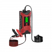 Car Battery Charger - 6/12 V - 2/4 A - LCD Display