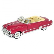 1949 Cadillac Series 62 Convertible Coupe 1/32 Red