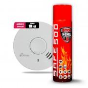 SET Hlásič požáru a kouře Kidde 10Y29 + Hasicí sprej SAFE 500