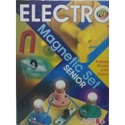 Electro Magnetic Set Senior Kit for Kids Science Experiments Basic Practical Miracles, Magnets, Electricity, Battery etc