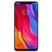 "Telefon Mobil Xiaomi Mi 8, Procesor Octa-Core 2.8GHz/1.8GHz, Super AMOLED capacitive touchscreen 6.21"", 6GB RAM, 128GB Flash, Camera Duala 12+12MP, Wi-Fi, 4G, Dual Sim, Android (Albastru) + Cartela SIM Orange PrePay, 6 euro credit, 6 GB internet 4G, 2,000"