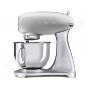 SMEG Robot culinaire SMF02SVEU gris métal
