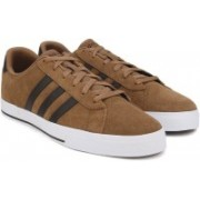 ADIDAS NEO DAILY Sneakers For Men(Brown)