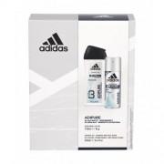 Adidas Adipure 48h set cadou deodorant 150 ml + gel de dus 250 ml pentru bărbați