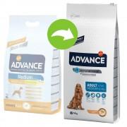 Advance Medium Adult pollo y arroz - 13 + 1 kg ¡gratis!