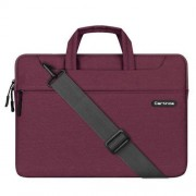 12 inch Cartinoe Starry Series Exquisite Zipper Portable Handheld Laptop Bag with Removable Shoulder Strap for MacBook Lenovo and other Laptops Internal Size:32.5x20.5x3.5cm(Purple)