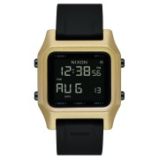 Nixon Staple Watch Black Gold