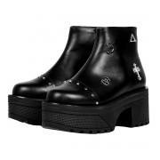 Damen Schuhe Wedge Boots - DISTURBIA - AW19F04