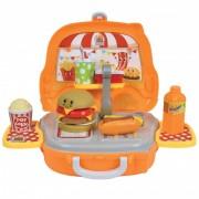 Bucatarie pentru copii Burger Truck Shop Hauck Toys, 24 piese, 3 ani+
