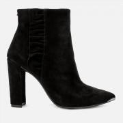 Ted Baker Women's Frillis Suede Heeled Ankle Boots - Black - UK 5 - Black