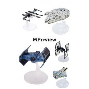 Hot Wheels Star Wars Starship Set (5-Pack) Includes: Darth Vader's TIE Advanced X1 Prototype