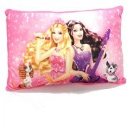 Barbie Doll Printed Soft Pillow